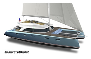 "SETZER AND FRONT STREET SHIPYARD INTRODUCE ""SAIL-CAT"""