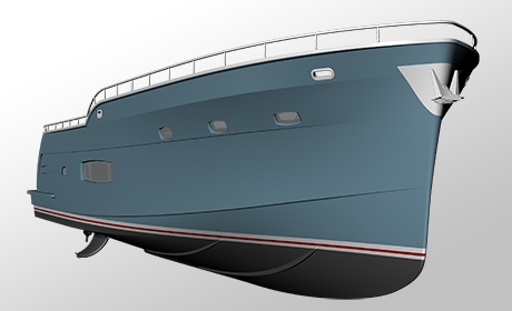 Trident 550 in Yachting Trends Feature