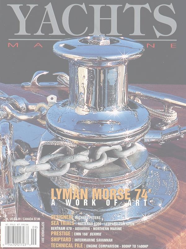 Yacht Magazine Covers | Setzer Yacht Design