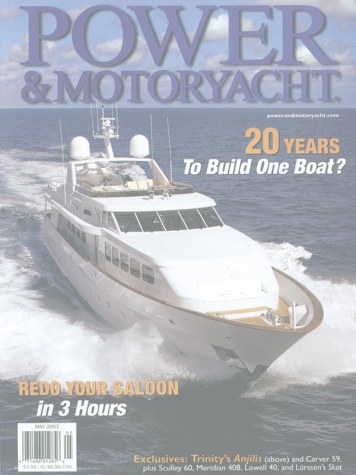 Power & Motoryacht Magazine: Wheels (ex. Anjilis) Cover Feature Cover