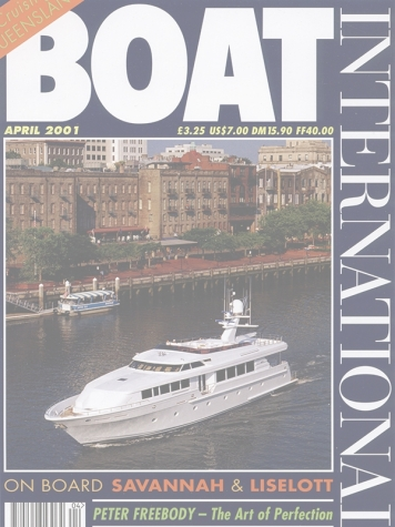 Boat International: Savannah Cover Feature Cover