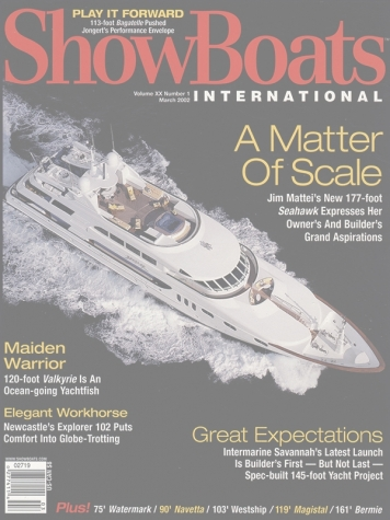 Showboats: Keri Lee III (ex. Sea Hawk) Cover Feature Cover