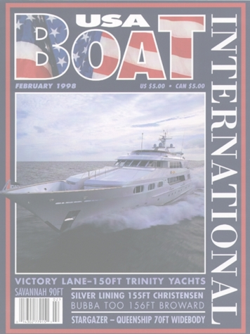 Boat USA: Encore (ex. Princess Marla) Cover Feature Cover