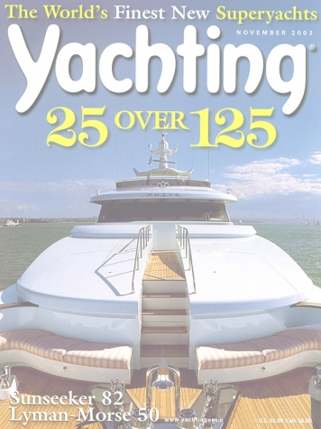 Yachting Magazine: Moon Sand (ex. Sovereign Lady) Cover Feature Cover
