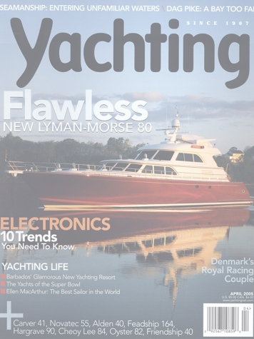Yachting Magazine: Excellence (ex. Wombat) Cover Feature Cover