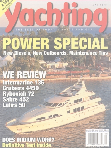 Yachting Magazine: Bossy Boots (Ex. Mia Elise) Cover Feature Cover