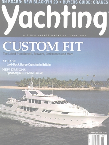 Yachting Magazine: Xilonen (ex. Namoh) Cover Feature Cover
