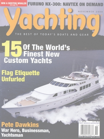 Yachting Magazine: Bri (ex. Big Bad John) Cover Feature Cover