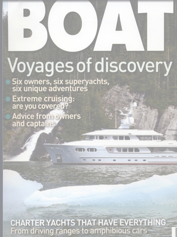 Boat International Magazine: Marama Cover Feature Cover