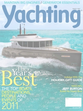 Yachting Magazine: NISI 2400 Cover Feature Cover