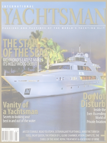 International Yachtsman: Richmond Cover Feature Cover