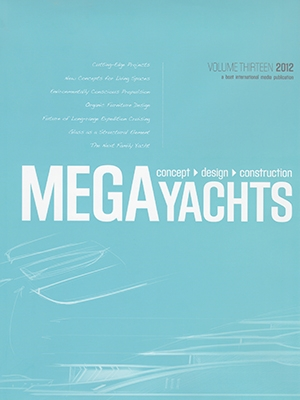 Setzer Concept Featured in 2012 Megayachts Book Cover