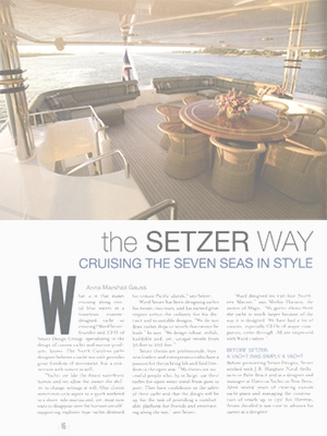 The Setzer Way - Business Leader Magazine Feature Cover