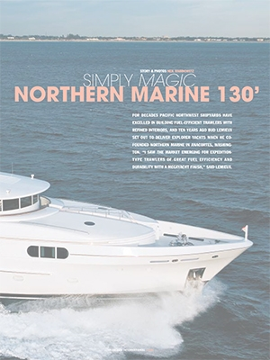 Simply Magic: Yachts International Feature of Setzer Custom Project Cover