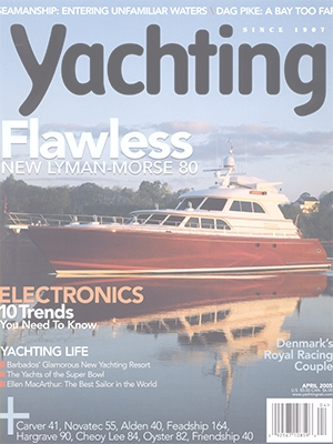 Flawless: Wombat Featured in Yachting Magazine Cover