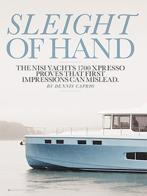 Sleight of Hand: NISI 1700 Featured in Yachting Cover