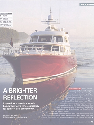 A Brighter Reflection: Wombat Featured in Showboats Magazine Cover