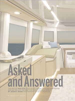 Asked and Answered: Power & Motoryacht Features NISI 1700 Never on Sunday Cover