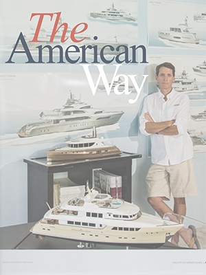 The American Way: Setzer Studio Featured in Yachts International Cover