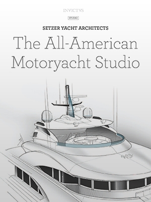 The All-American Motoryacht Studio: INVICTVS Feature Cover