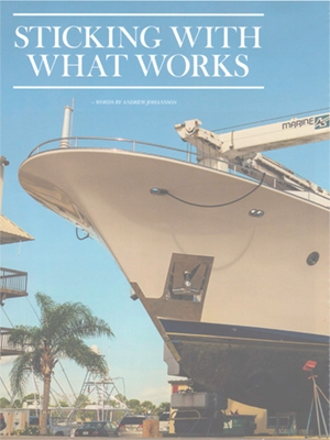 Sticking With What Works: Superyacht Owner Refit Feature Cover